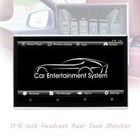 Portable Android 6.0 Touch Screen Car DVD Player Headrest Monitor Pillow WiFi