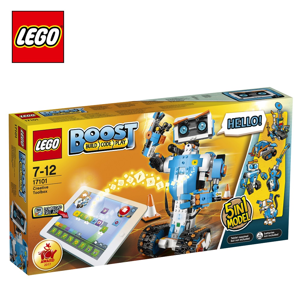 Blocks LEGO 17101 Boost play designer building block set  toys for boys girls game Designers Construction цена