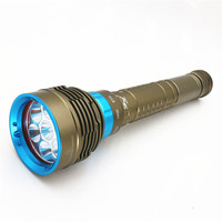 Dive Waterproof Light 7 Led L2 18650 Battery Torch Diving 100m Swimming Flashlight