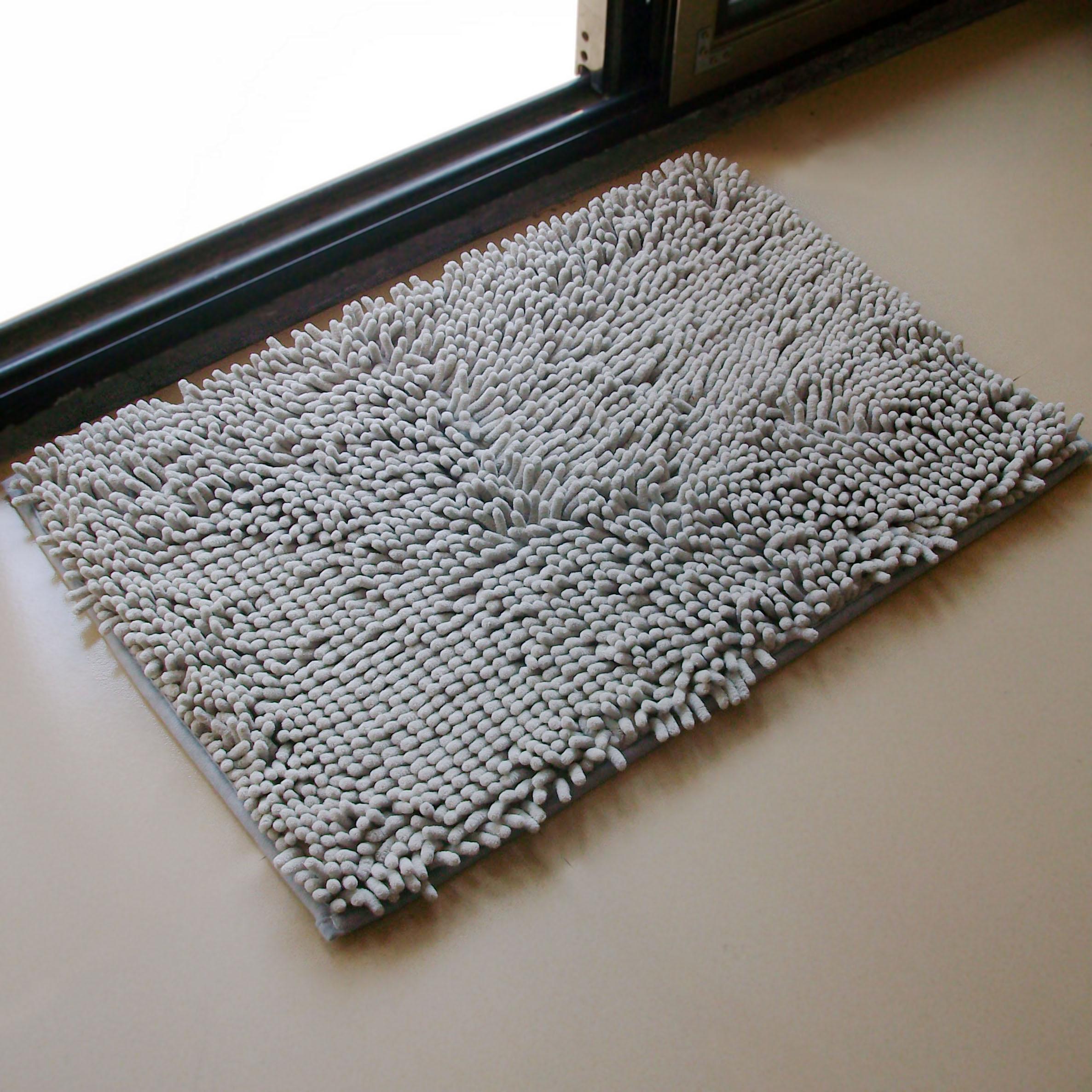 Anti Skid Shaggy Area 40 60 Microfiber Chenille Bath Mat
