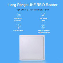 UHF RFID Reader 15m Long Range 860~960mhz long range For Parking Solutions RS232/485 With Wiegand 26/34 Free SDK UHF Reader acs visual vantage nfc reader with lcd with free sdk acr122l