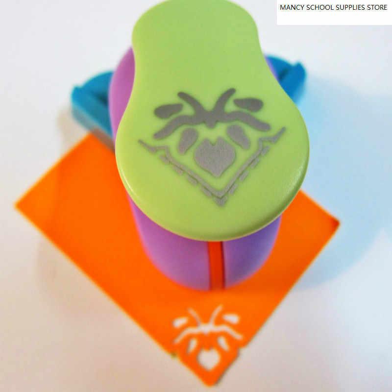 Nouveau coin papier impression carte Cutter Scrapbook Shaper grand dispositif de gaufrage perforateur enfants à la main Furador Eva Machine