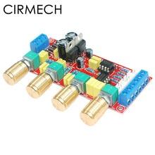 CIRMECH preamplificador de amplificador HIFI, OP AMP, tono de volumen, placa de Control EQ, KIT DIY y producto terminado