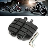 Male Mount Motorcycle Rubber Footrest Footpegs Floorboard For Harley SOFTAIL for Yamaha for Honda Touring Custom Dyna Softail