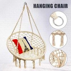 Ronde Hangmat Meubels Swing Opknoping Stoel voor Outdoor Indoor Hangmat voor Tuin Slaapzaal Kind Volwassen Comfortabele Stoel
