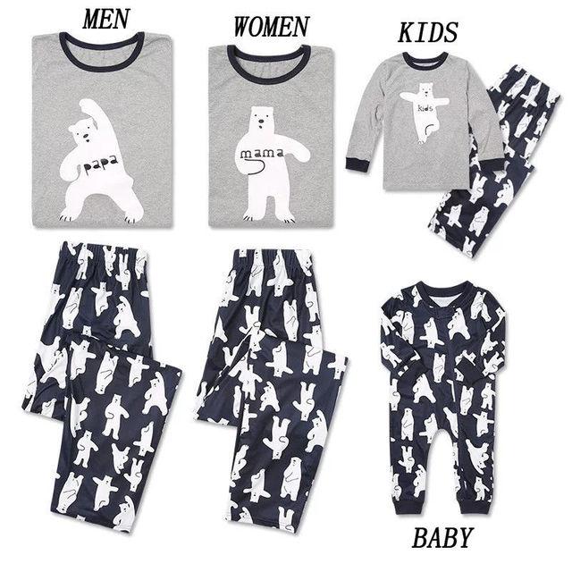 Matchende pyjamas sæt