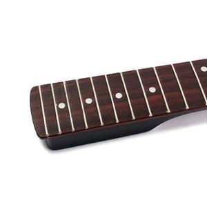 Image 5 - Đàn Guitar Điện Cổ Hoa Hồng Guitar Gỗ Cổ 22 Phím Đàn Ván Trượt Ngón Tay Fretboard Cho ST Strat Đàn Guitar Điện Thay Thế