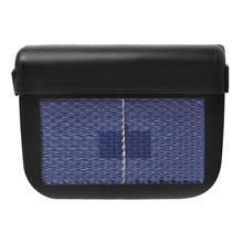 Универсальный Солнечный автомобильный оконное вентиляционное отверстие охлаждающий вентилятор охладитель системы вентиляции радиатор пластик + Солнечная панель Черный вентиляционный вентилятор