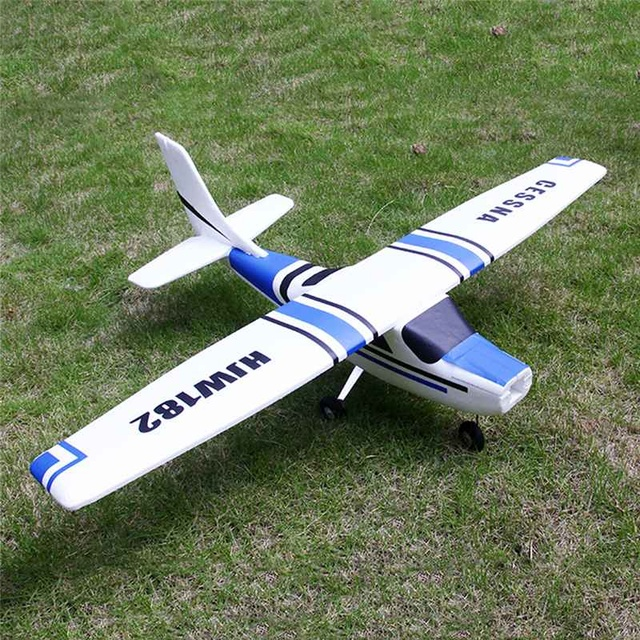 Newest 2019 Cessna HJW 182 1200mm Wingspan EPS Trainer Beginner RC Airplane PNP