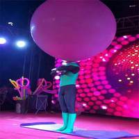 1pcs Performance Round & Oval Latex Balloons 72 Inchs Wedding Decoration Helium Large Ballons Birthday Party Decora Best Quality