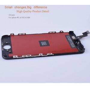 Image 3 - 10 unids/lote para iphone 5 SE 5C 5S reemplazo del digitalizador de pantalla táctil para iphone 5 S monitor LCD SE completa