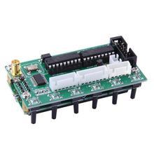 تيار مستمر 8 فولت 9 فولت AD9850 6 العصابات 0 55 ميجا هرتز تردد LCD DDS إشارة مولد وحدة رقمية إشارة مولدات
