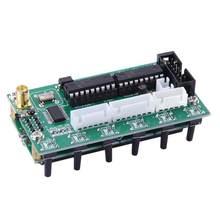 Dc 8v-9v ad9850 6 faixas 0-55mhz frequência lcd dds gerador de sinal geradores de sinal de módulo digital