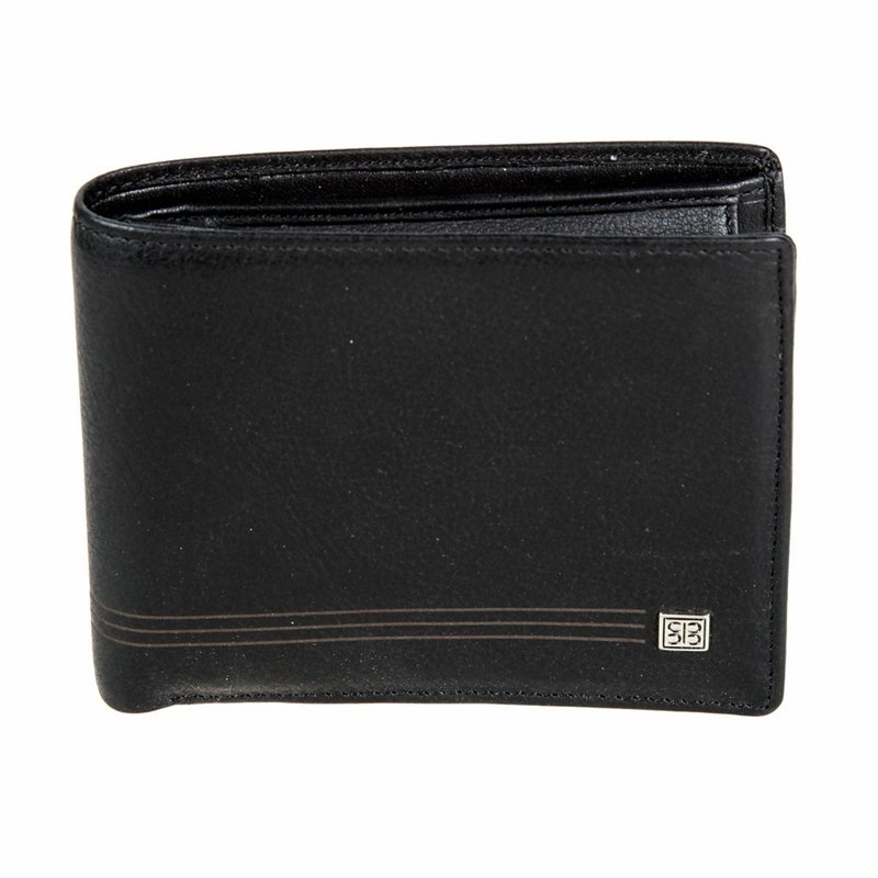 Wallets SergioBelotti 1842 west black цена 2017