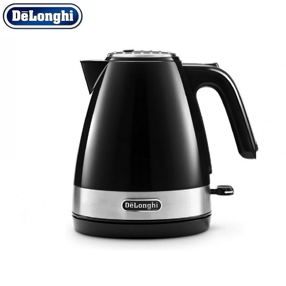 лучшая цена Electric Kettles Delonghi KBI 2000.BK home kitchen appliances kettle make tea