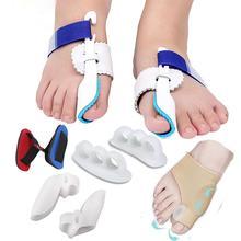 9 Pcs/set Big Thumb Toe Hallux Valgus Orthosis Training Belt Bunion Correction Straightener Corrector Pain Relieve