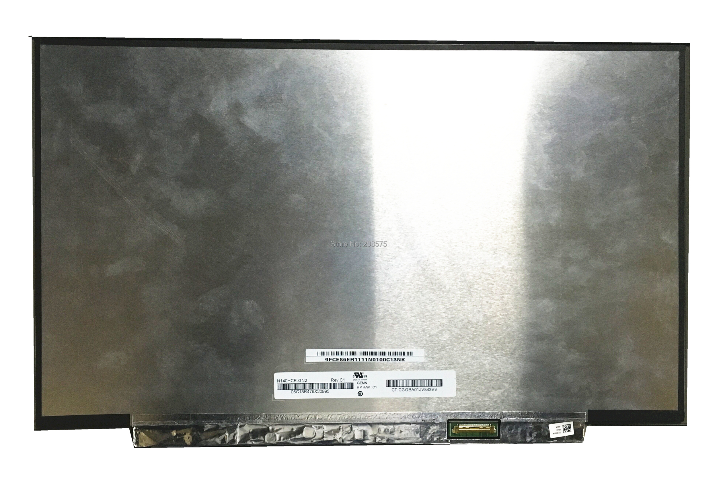 Free shipping 14.0LCD Screen N140HCE-GN2 N140HCE GN2 Laptop Lcd Screen 1920*1080 EDP 30 Pins 72% NTSC Display free shipping 10pcs cm601 chip lcd screen