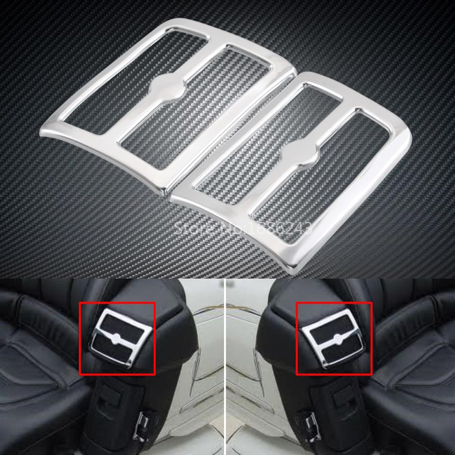 car accessories for Volvo S90 front fog light box daytime light decoration stainless steel car styling