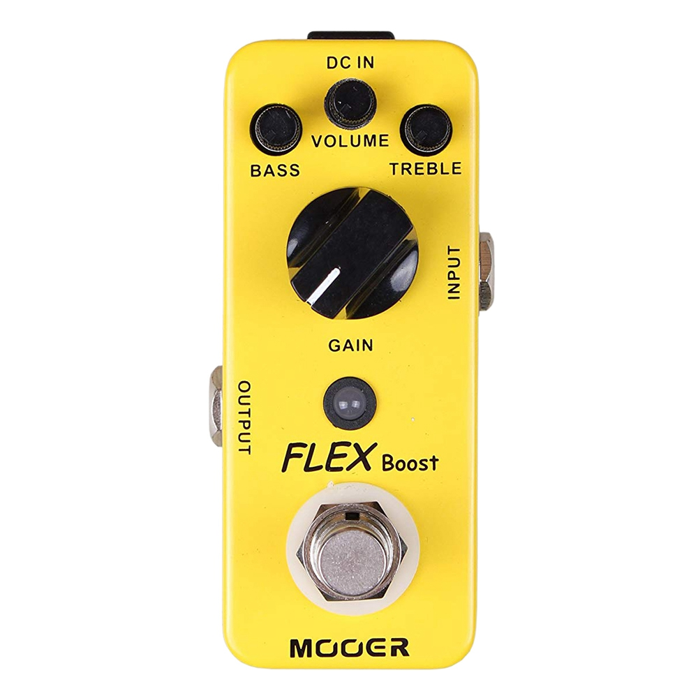 Mooer Full Metal Shell Effects Wide Gain Range Flex Boost Guitar Effect Pedal True BypassMooer Full Metal Shell Effects Wide Gain Range Flex Boost Guitar Effect Pedal True Bypass