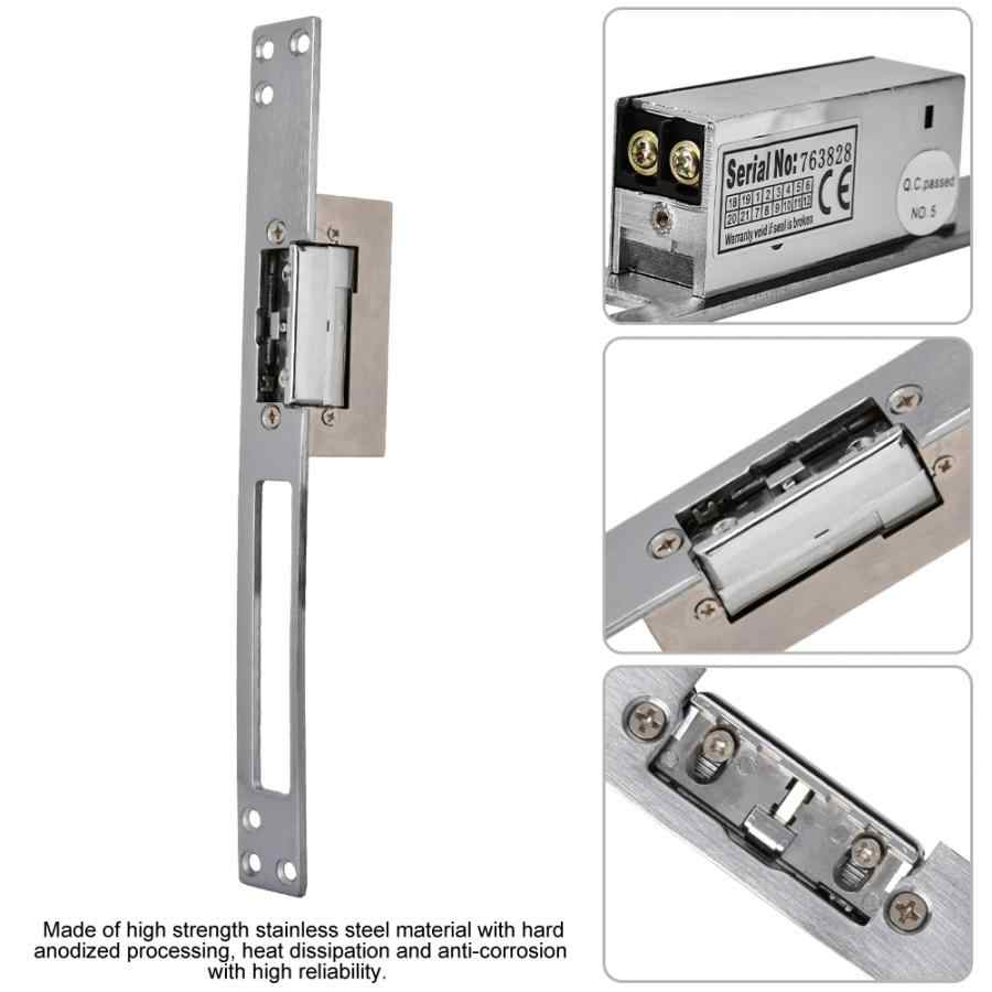 Dc 12V Electric Bolt Lock Intelligente Guard Kathode Strike Lock Deur Toegangscontrole Fechadura Eletrica Zamek Elektryczny