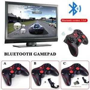 Image 4 - T3 bezprzewodowy gamepad bluetooth S600 STB S3VR kontroler do gier joystick dla android ios telefony komórkowe usb do komputera kabel instrukcji użytkownika