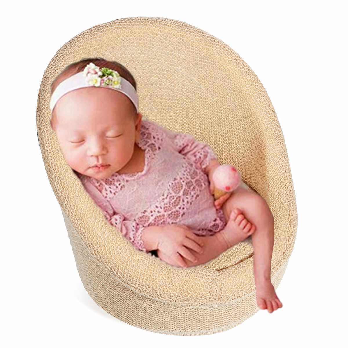 Sofá de bebé silla para posar asiento accesorios de fotografía estudio infantil Shooing Niños Accesorios de foto sofá pequeño para niños recién nacidos