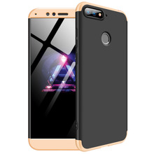 Huawei Honor 7A Pro 5.7 Case Y6 Prime 2018 Matte 360 Degree Full Protection Hard For AUM L29 cover