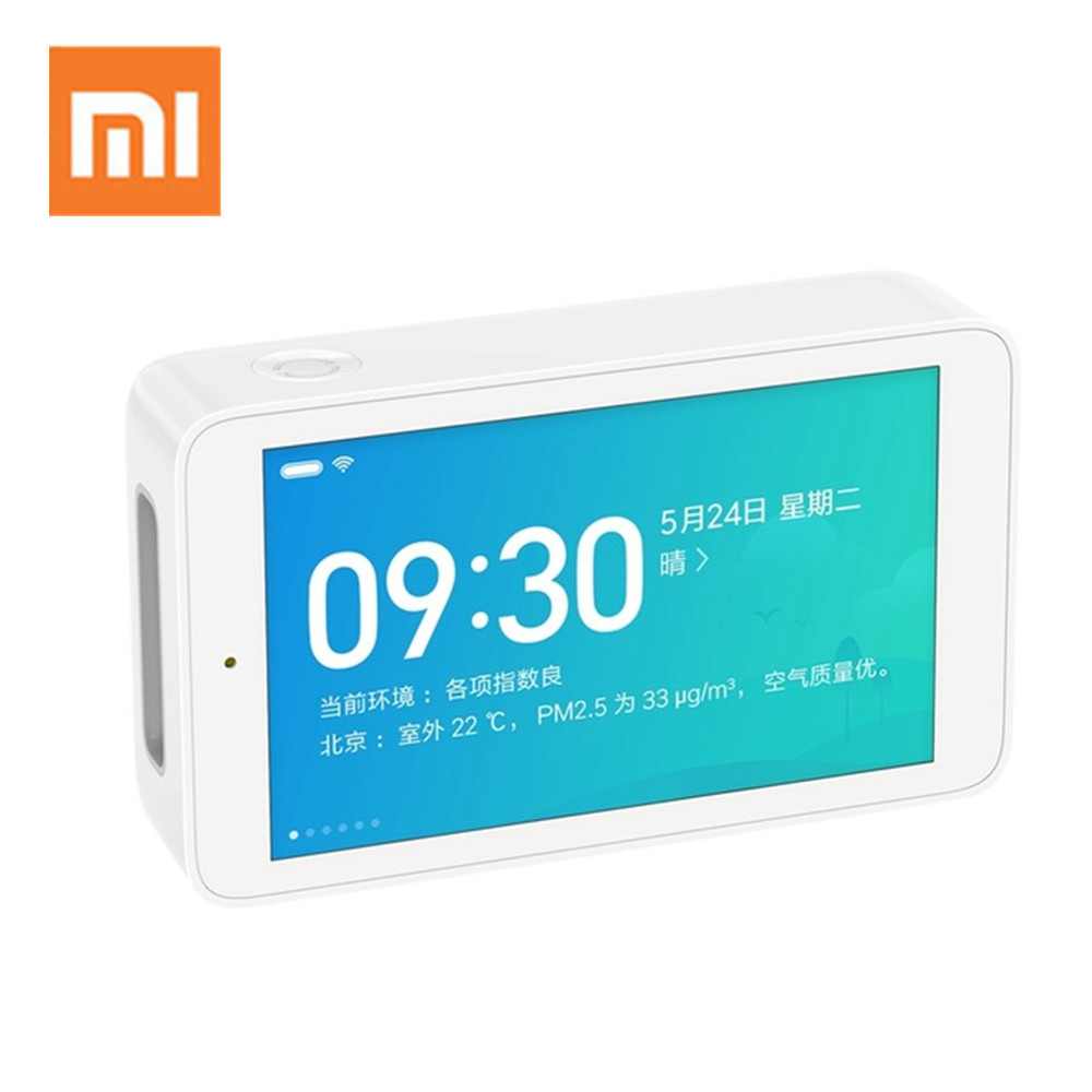 Xiaomi Mijia Air Detector PM2.5 High-Precision Sensing 3.97Inch Touchscreen USB Interface Remote Monitoring CO2a Humidity SensorXiaomi Mijia Air Detector PM2.5 High-Precision Sensing 3.97Inch Touchscreen USB Interface Remote Monitoring CO2a Humidity Sensor