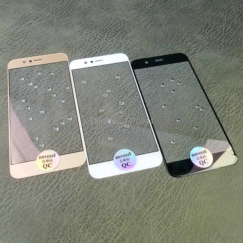 AAA + 新交換タッチパネルフロント外側ガラス Huawei 社ノヴァ 2 2 プラス Lcd ディスプレイタッチスクリーン外部ガラス