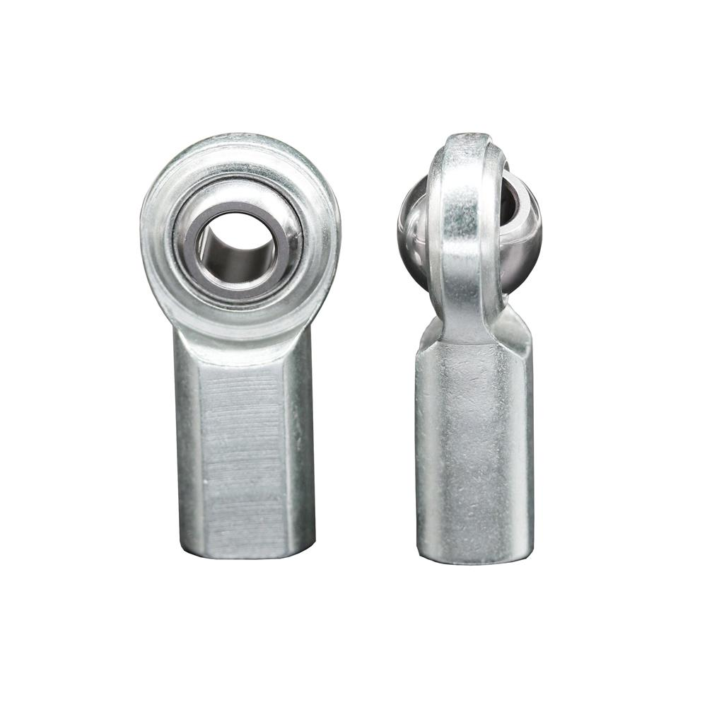4PCS 1/4'' Bore CF4 Inch Rod End Bearing 1/4-28 Female Thread Heim Joint Rod Ends                                      Material