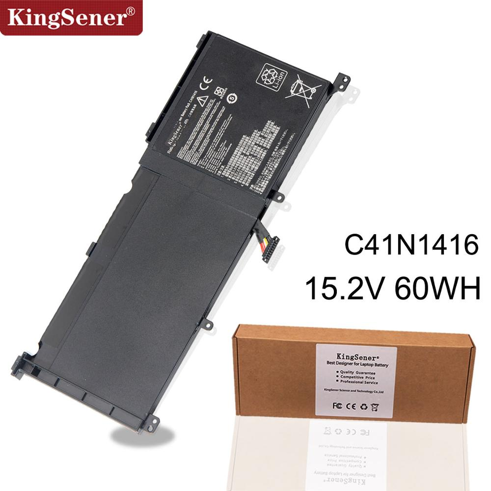 Kingsener New C41N1416 Laptop Battery for ASUS ZenBook Pro G501 G601J UX501VW UX501LW N501L UX501J Series 15.2V 60Wh|Laptop Batteries|   - title=