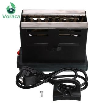 Shisha Hookah Charcoal Stove Heater Square Electric Coal Burner Stove Hot Plate Accessories With EU Plug Cable Black New