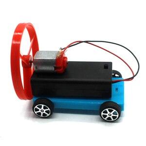 DIY Wind Trolley Wind Driving