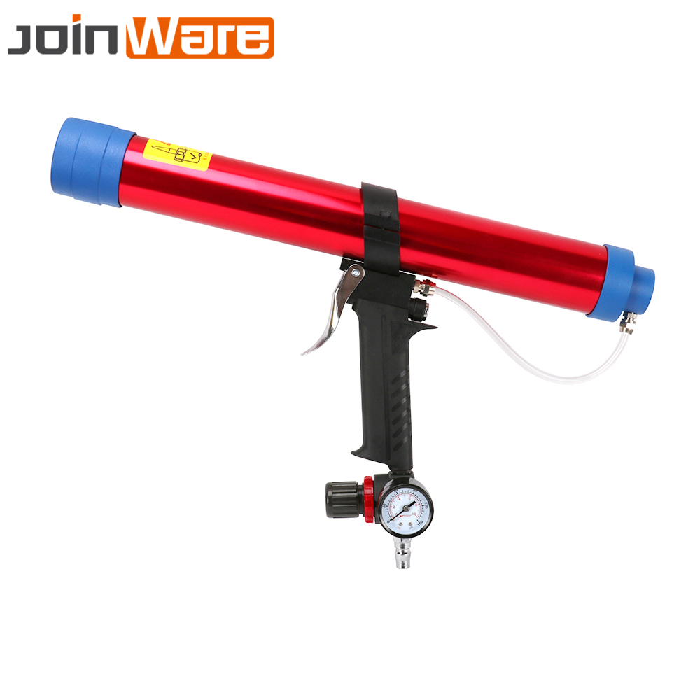 600ml Pneumatic Caulking Gun Glass Glue Gun Air Glass Glue Guns Air Rubber Gun Caulk Applicator Tool High Quality цена