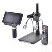 NEW 5 Inch Screen 16MP 4K 1080P 60FPS USB & WIFI Digital Industry Microscope Camera 150X C mount Lens with 1/2.3 Image Sensor