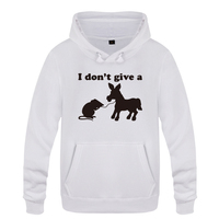 I Don't Give A Rats Ass Offensive Gift Sarcastic Sweatshirts Men 2018 Mens Hooded Fleece Pullover Hoodies