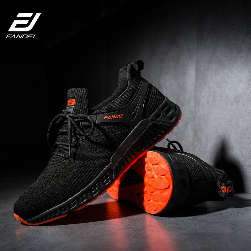 FANDEI chaussures de course pour hommes chaussures de Sport en plein air hommes amorti antidérapant hommes baskets Zapatillas Hombre Deportiva chaussures de Sport hommes