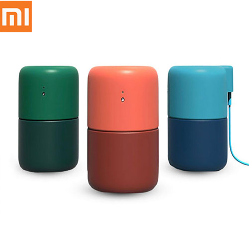 Original Xiaomi Vh Diffuse Desktop Usb Mini Humidifier 480ml Anti-dry With Touch Switch Spa Feeling For Home Car From Youpin