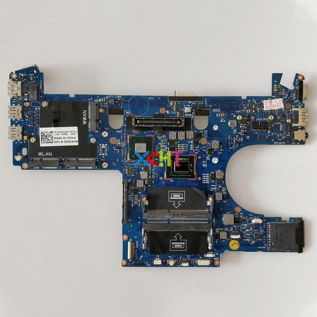 CN 00W5HN 00W5HN 0W5HN w I7 2640M CPU สำหรับ Dell Latitude E6220 โน้ตบุ๊ค PC แล็ปท็อปเมนบอร์ดเมนบอร์ดทดสอบ