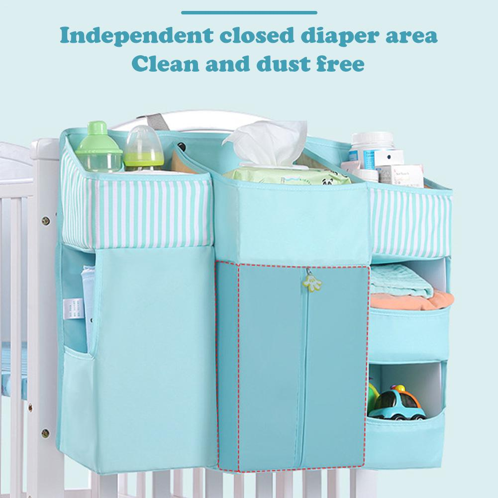 Baby Crib Bed Hanging Storage Bag Baby Bed Organizer Newborn Cot Crib Bedding Set Child Kid Storage Pockets Portable Diaper BagBaby Crib Bed Hanging Storage Bag Baby Bed Organizer Newborn Cot Crib Bedding Set Child Kid Storage Pockets Portable Diaper Bag