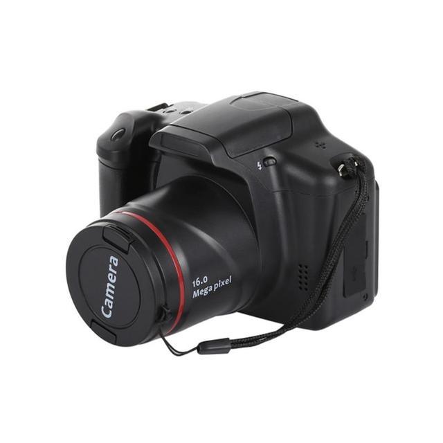 HD SLR Camera Dry Battery Domestic Telephoto Digital Camera Digital Fixed Lens 16X Zoom AV Interface