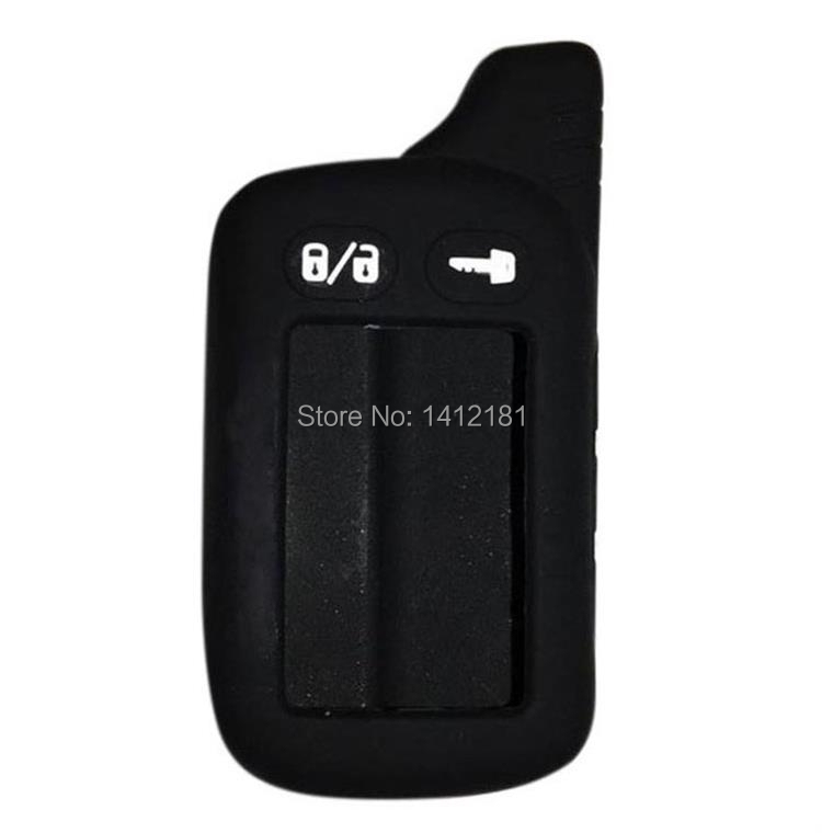 TZ-9030 Silicone Case For Russian 2-way Car Alarm Remote Control Keychain Tomahawk TZ9020/9010 TZ-9010 TZ-9020 TZ 9010 9020 9030