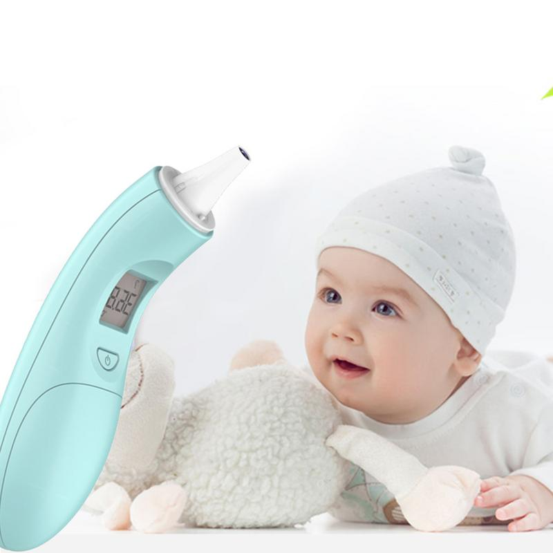 Infrared Electric Thermometer Non-contact Online Temperature Measurement Digital Thermometer Body For Baby Milk Temperature Gun