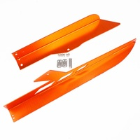 CNC Aluminum For KTM DUKE 390 2013 2018 DUKE 250 2017 2018 Motorcycle Chain Guard Cover Orange