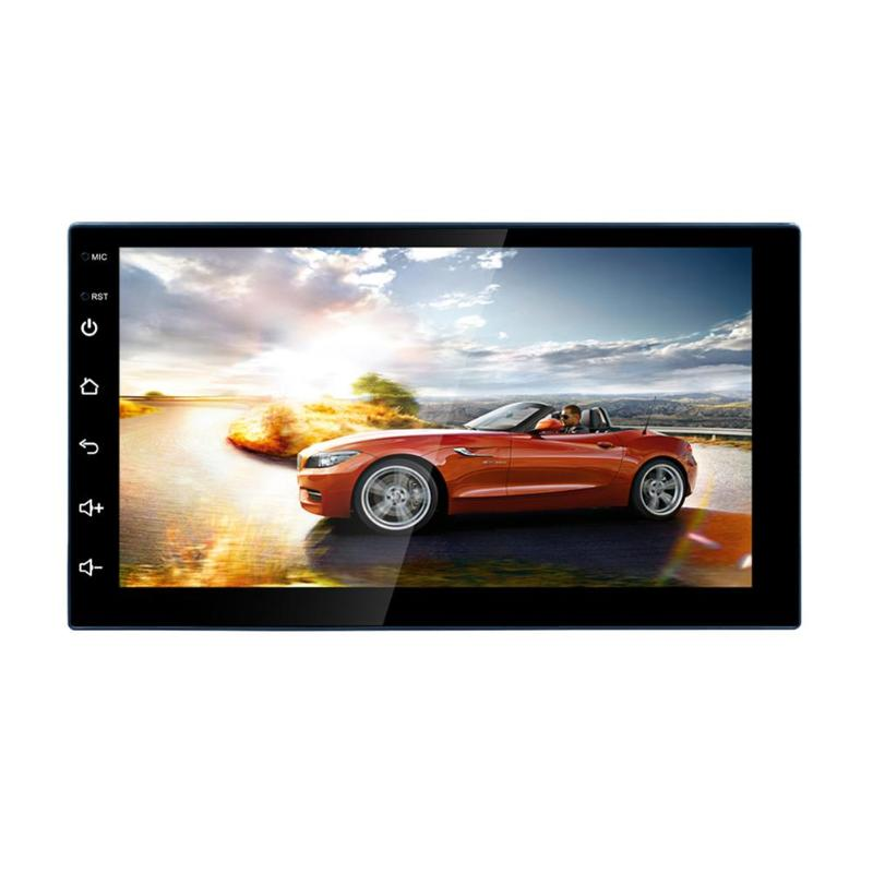 7 Inch Touch Screen 2Din Quad-Core Android 8.1 Car Stereo MP5 Player GPS Navi AM FM Radio WiFi BT4.0 Phone Link Head Unit7 Inch Touch Screen 2Din Quad-Core Android 8.1 Car Stereo MP5 Player GPS Navi AM FM Radio WiFi BT4.0 Phone Link Head Unit