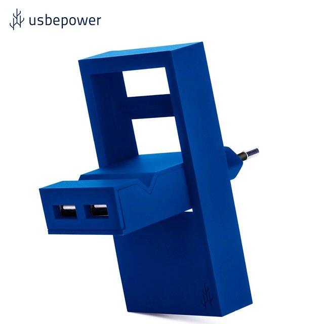 Зарядное устройство USBepower ROCK цвет синий/ROCKBL