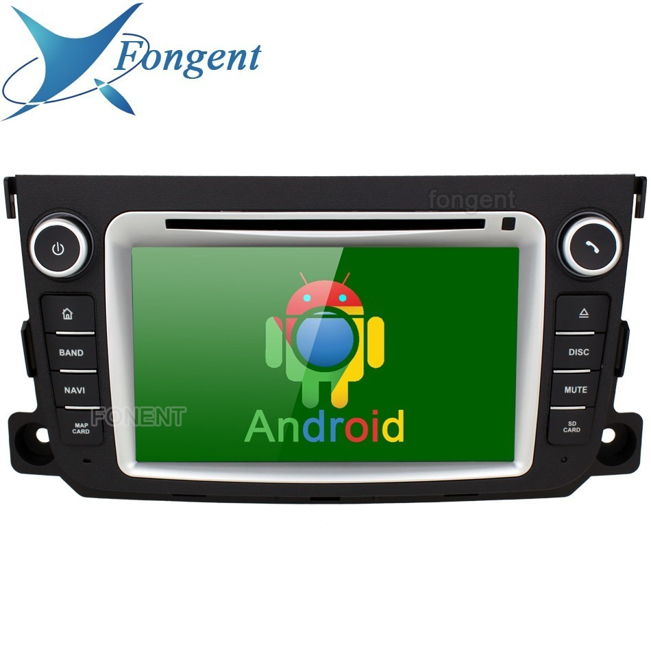 for Mercedes Benz Smart Fortwo 2011 2012 2013 2014 Vehicle Android DVD Entertainment Multimedia Player Radio Audio GPS Navigator