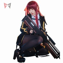 New Girls Frontline cosplay costume Walter WA2000 cos fashion wig tie glove uniform clothing for girl women anime set