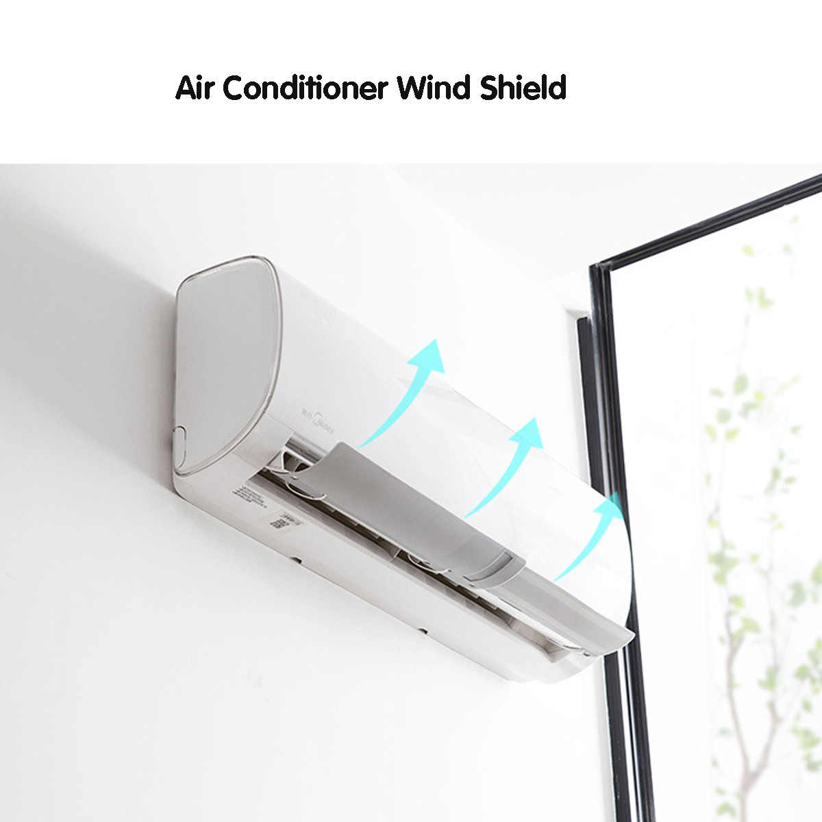 3Colors Clip Type Retractable Air Conditioning Wind Shield Air Conditioner Deflector Baffle Living room Bedroom Anti Direct Blow