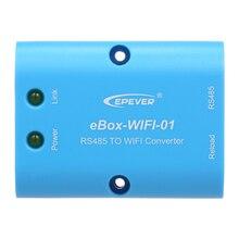 Wifi модуль eBOX wifi 01 RS485 последовательный сервер wifi для MPPT Контроллер заряда и инвертор с беспроводным контролем